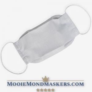 mondkapje / mondmasker lichtgrijs