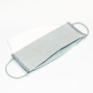 Mondkapje lichtgrijs + 10 filters
