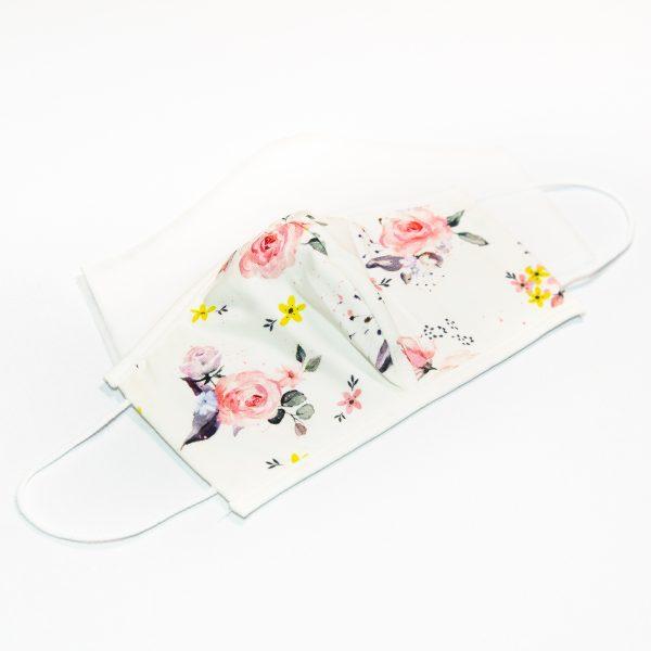 Mondkapje rozen (gezichtsvorm) + 10 filters