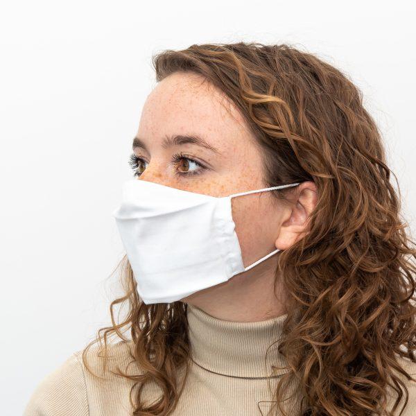 Mundschutz Weiß - kostenlos 10 Filter